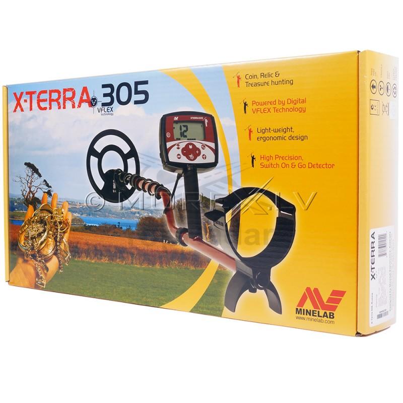 """Minelab X-Terra 305 With 9"""" 7.5kHz CC Coil (3704-0107)"""