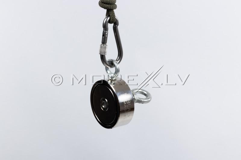 6 mm x 20 m virve Black Magnet meklēšanas magnētam
