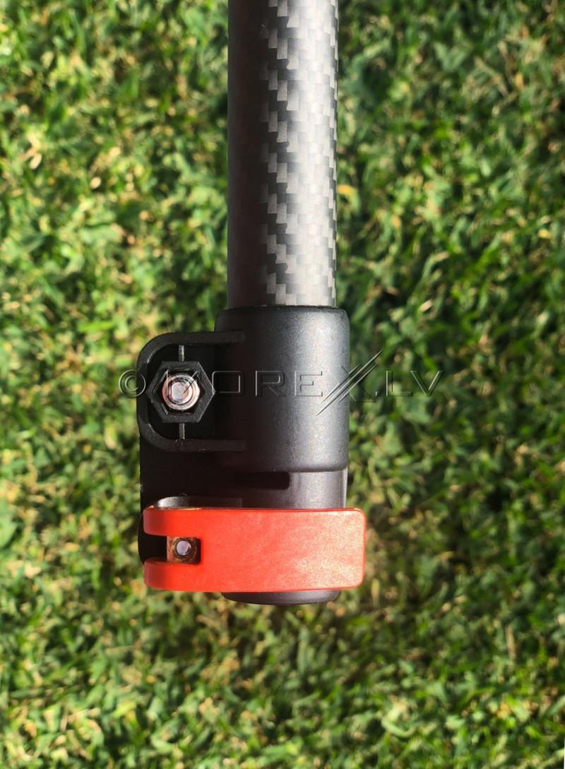 Detect-Ed Augšējais oglekļa stienis detektoram Equinox LS Original Black