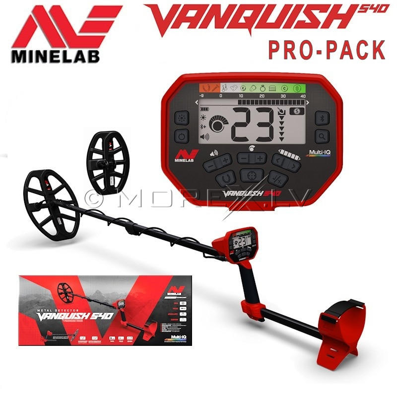 Metal detector Minelab Vanquish 540 Pro-Pack