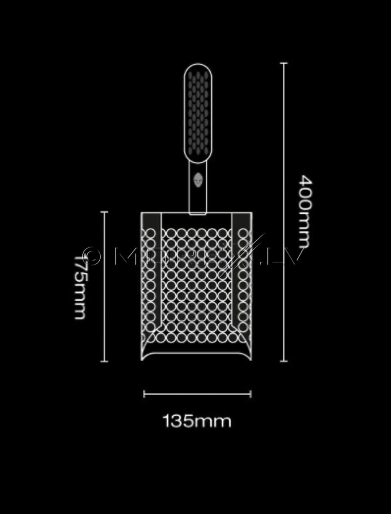 Специальная лопата Black Ada Sandscoop (Black) для поиска монет и сокровищ