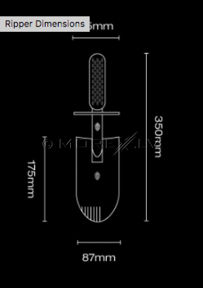 Специальная лопата Black Ada Stainless Steel Ripper (BL002ST) для поиска монет и сокровищ