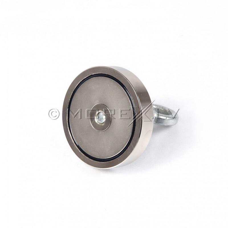 Поисковый магнит 200 kg Black Magnet F200