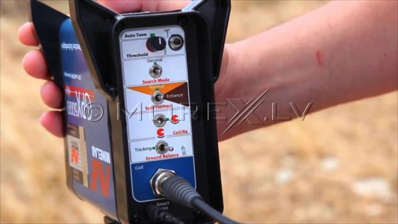 Metāla detectors Minelab GPX 5000 + DĀVANAS (3300-0420)