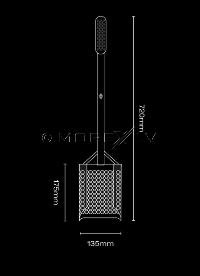 Специальная лопата Extended Black Ada Sandscoop (Black) для поиска монет и сокровищ