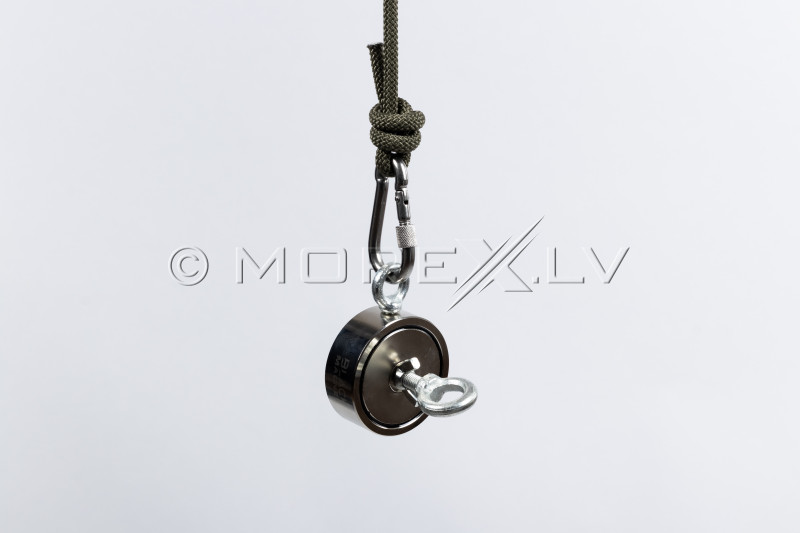 """8 mm x 20 m Rope for Search Magnet """"Black Magnet"""""""
