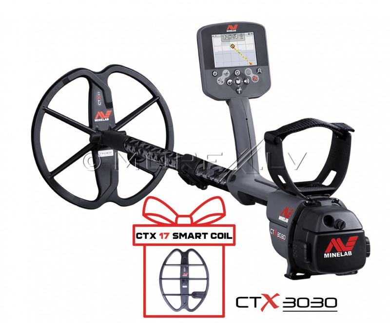 Metāla detektors Minelab CTX3030 (3228-0101) + DĀVANA